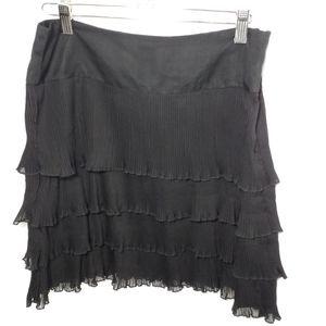Loft Tiered Ruffled Skirt